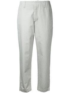 укороченные брюки-чинос Bassike