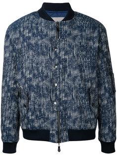 куртка с абстрактным узором-сеткой Casely-Hayford