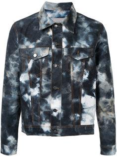 куртка рубашечного кроя с размытым принтом Casely-Hayford