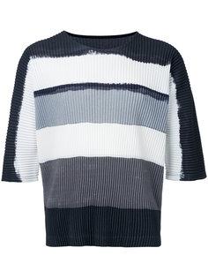 футболка с плиссировкой  Homme Plissé Issey Miyake