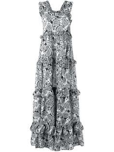 """длинное платье с принтом """"пейсли"""" Dodo Bar Or"""