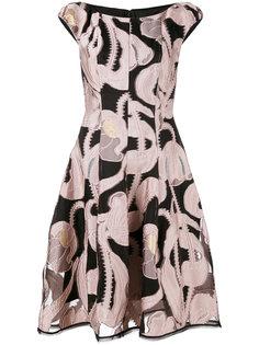 приталенное платье Longley Talbot Runhof