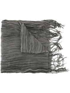 плиссированный шарф Greg Lauren