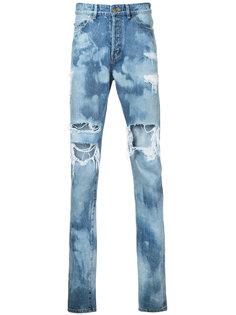 джинсы с потертой отделкой Hl Heddie Lovu