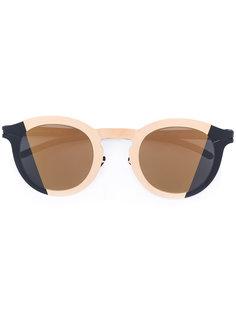 солнцезащитные очки в стиле колор-блок Mykita