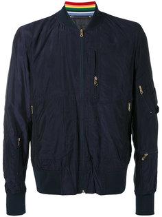 классическая куртка-бомбер Paul Smith