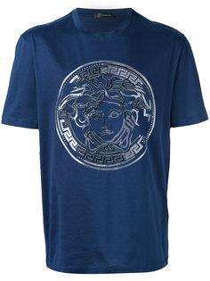 футболка с логотипом Medusa Versace