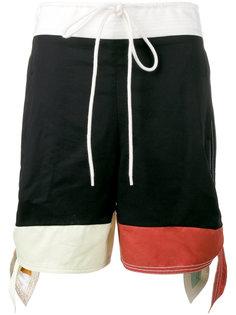 шорты дизайна колор-блок Chloé