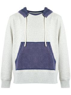 color block hoodie À La Garçonne