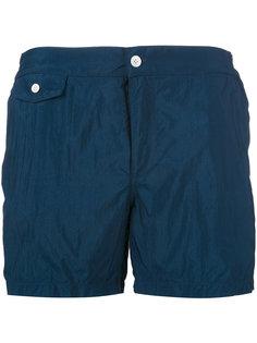 шорты для плавания с накладными карманами Incotex