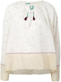 блузка с вышивкой Orpheo  Mes Demoiselles