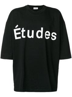 футболка Desert Études  Études