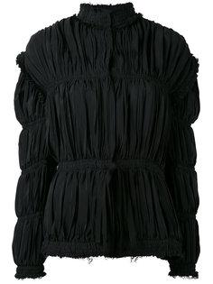 присборенная куртка с высоким воротом JW Anderson