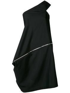 платье со спиральной застежкой-молнией Issey Miyake