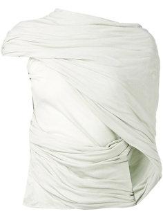 блузка с запахом Rick Owens