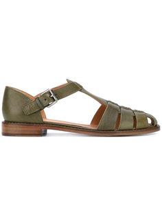 сандалии с ремешком на пряжке Churchs