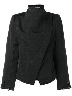 байкерская куртка с высоким воротником Ann Demeulemeester