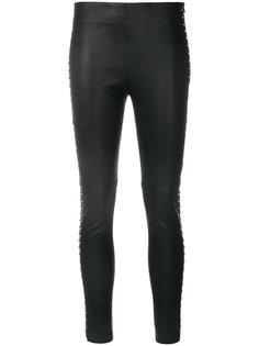 брюки скинни с отделкой заклепками  Iro
