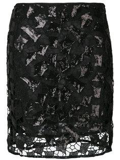 юбка с отделкой пайетками  Iro