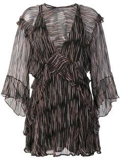 полупрозрачное платье с оборками Canyon Iro