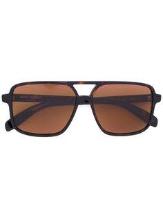 солнцезащитные очки в квадратной оправе Saint Laurent Eyewear