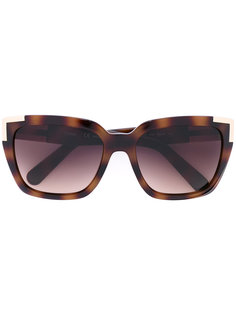 солнцезащитные очки в квадратной оправе Chloé Eyewear
