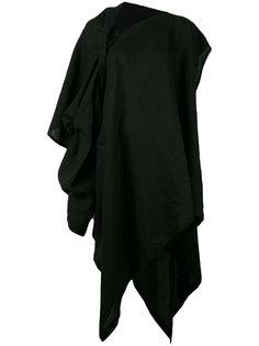 асимметричное платье Yohji Yamamoto
