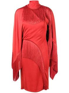 платье с бахромой  Givenchy