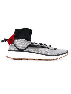 фактурные кроссовки с носочной вставкой Adidas Originals By Alexander Wang