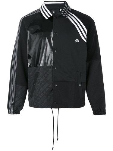 куртка с панельным дизайном и логотипом Adidas Originals By Alexander Wang