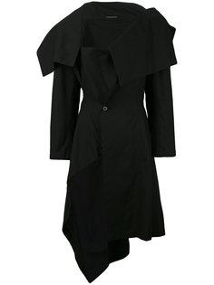 асимметричное пальто  Yohji Yamamoto