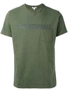 футболка с принтом Engineered Garments
