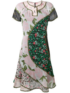 платье с цветочными рисунками Coach