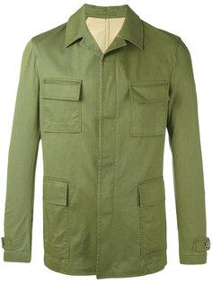 легкая куртка с накладными карманами Lardini