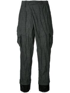укороченные брюки с карманами  A.F.Vandevorst