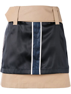 мини-юбка с шелковыми панелями Opening Ceremony
