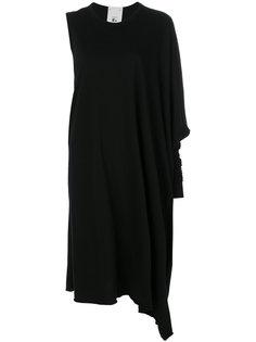 платье-футболка с одним рукавом Lost & Found Rooms