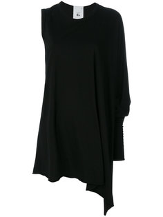платье с одним длинным рукавом Lost & Found Rooms