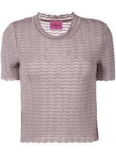 футболка фактурной вязки Denia