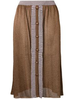 вязаная юбка с пуговицами Denia