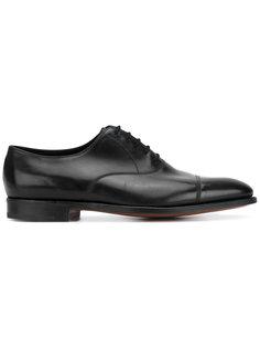 классические туфли оксфорды John Lobb