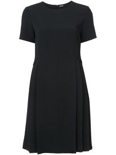 платье со складками сбоку  Adam Lippes