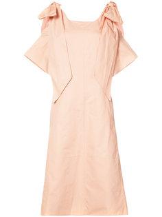 платье с завязками на плечах Chloé