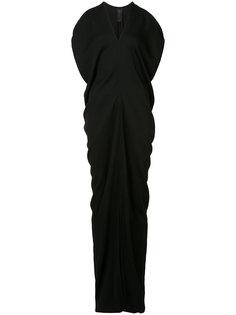 драпированное платье-макси Zero + Maria Cornejo
