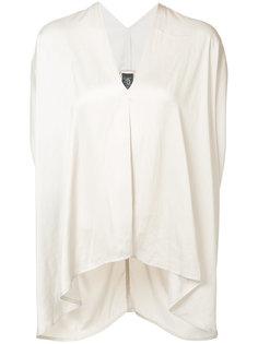 драпированная блуза шифт Zero + Maria Cornejo