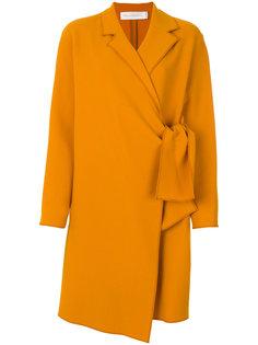 приталенное пальто с поясом  Victoria Victoria Beckham