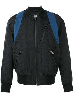 куртка-бомбер  на молнии MCM