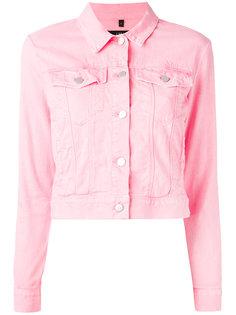укороченная джинсовая куртка J Brand