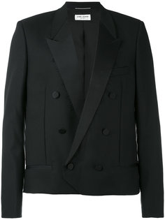 двубортный пиджак Saint Laurent