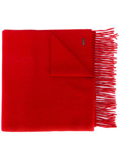 шарф с бахромой Dsquared2